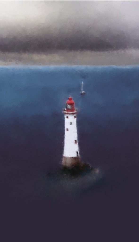 Lighthouse and Ship v2